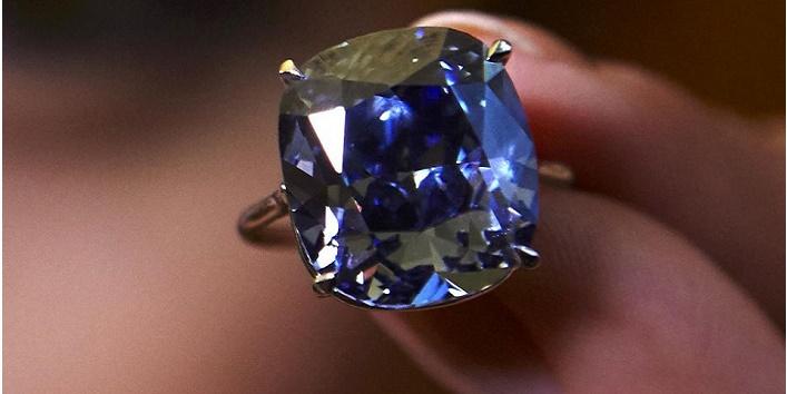 Blue Daimond ring