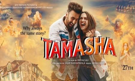 Ranveer and Deepika seen Together  again for Movie Tamasha