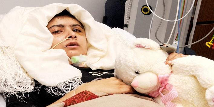 malala in hospital