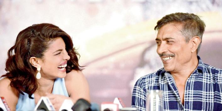Prakash Jha and Priyanka Chopra