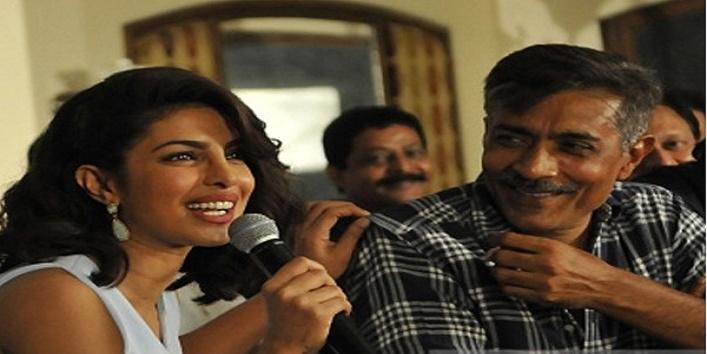 Prakash Jha bowed to Priyanka Chopra