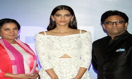 Sonam Kapoor and Shabana Azmi