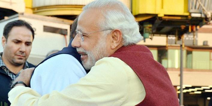PM Modi in Lahore