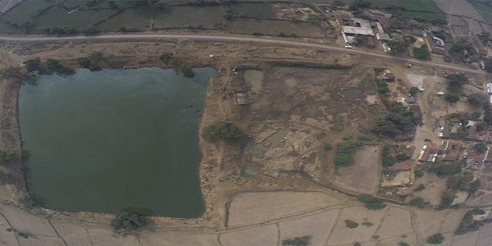 रातों रात गायब हुआ 12 साल पुराने तालाब का पानी 4