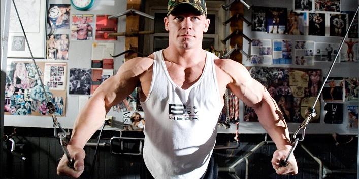 wwe-star rock wrestlers-workout5