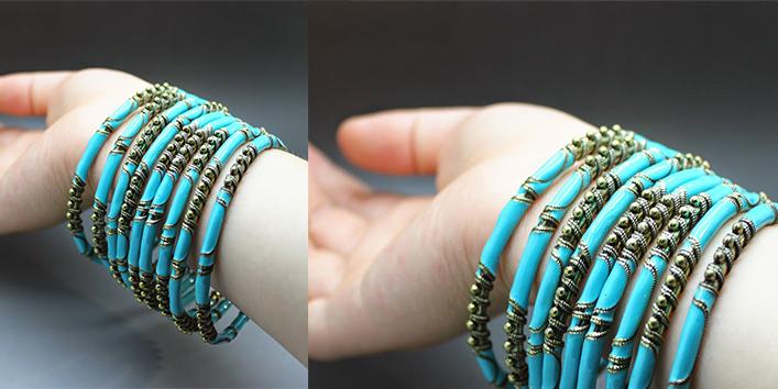 New-2014-Fashion-Indian-Big-Size-Bangles-Bohemia-Blue-Color-Snake-Shape-Alloy-Charm-Bracelets-Bangles