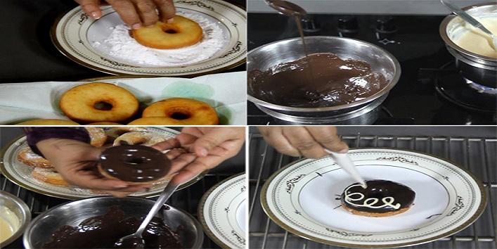 Crispy and creamy doughnuts4