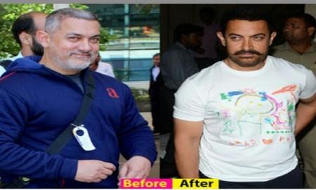 aamir khan weight loss