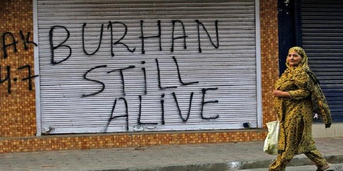 Burhan Muzaffar Wani,Burhan Wani,commander of Kashmiri militant group,4