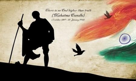 Mahatma-Gandhi-Independence