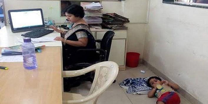 Pune working mom