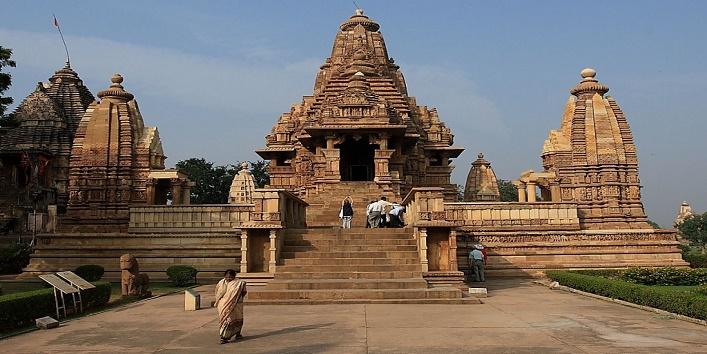 Khajuraho-Tempele1