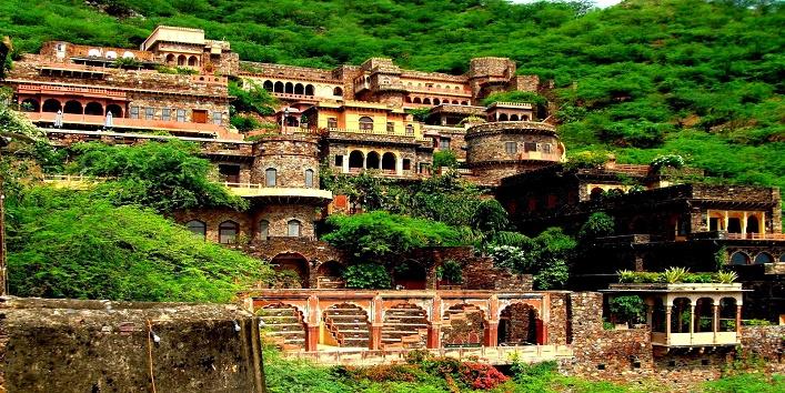 Image result for नीमराना किला