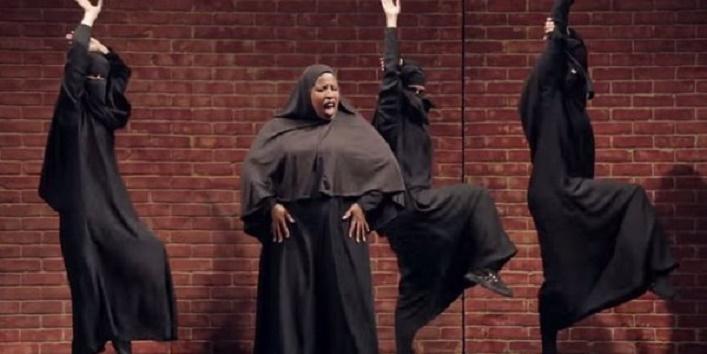 burqa dance