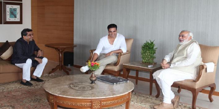 Akshay Kumar to play Narendra Modi in his next movie
