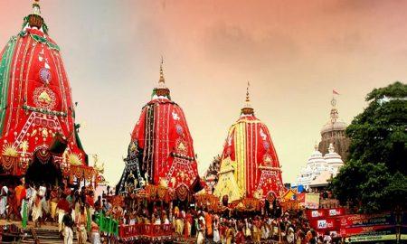 Rath Yatra of Lord Jagannath starts at puri in odisha