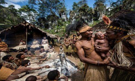 mummy in Papua New Guinea