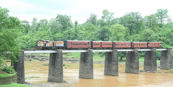 बिलिमोरा-वाघई नैरो गेज ट्रेन