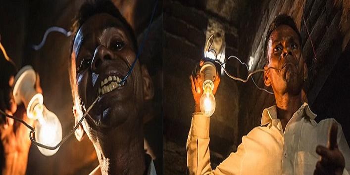 naresh kumar from muzzaffarnagar claims he is a human light bulb
