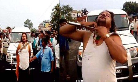 badri vishwakarma performs dangerous stunts cover