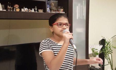 sucheta satish an indian girl sings in 80 languages cover