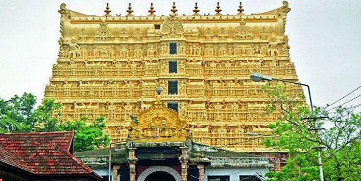 क्या विशाल मंदिरों में बनाया गया था सोना