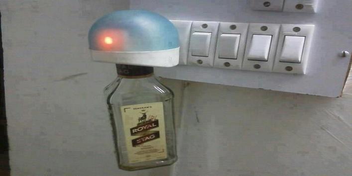 इस रूम में आकर मच्छर नशे से जरूर मर जायेगा।