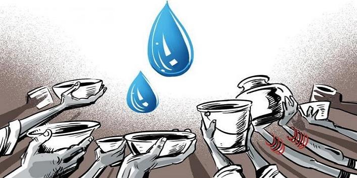 अभी भी है पानी की समस्या -
