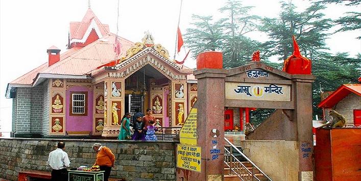 शिमला के जाखू में है यह मंदिर