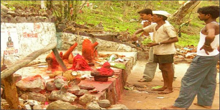 गुजरात के डांग जिले में होता है ऐसा