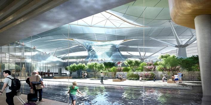 दक्षिण कोरिया का इंचन एयरपोर्ट