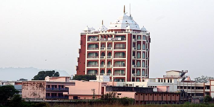 यह है मंदिर की आठ मंजिलों पर
