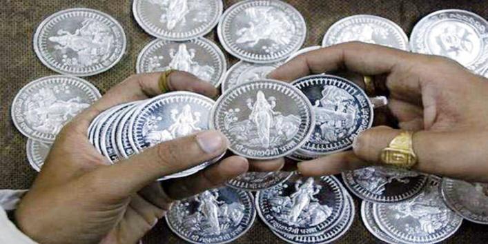 चांदी का सिक्का