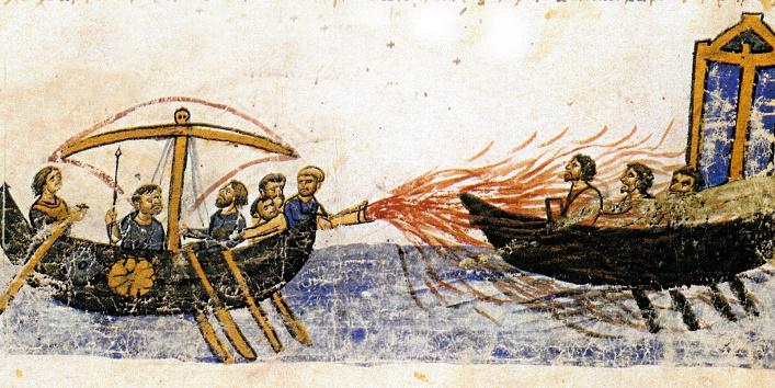 तूफान में फंसे जहाज की तस्वीर