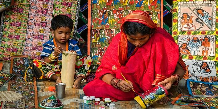 पटुआ और चित्रकार