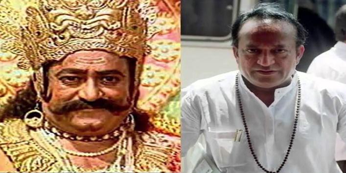 अरविंद त्रिवेदी ने निभाया था रावण का अभिनय