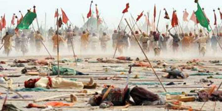 कर्बला में हुसैन के लिए लड़ी लड़ाई