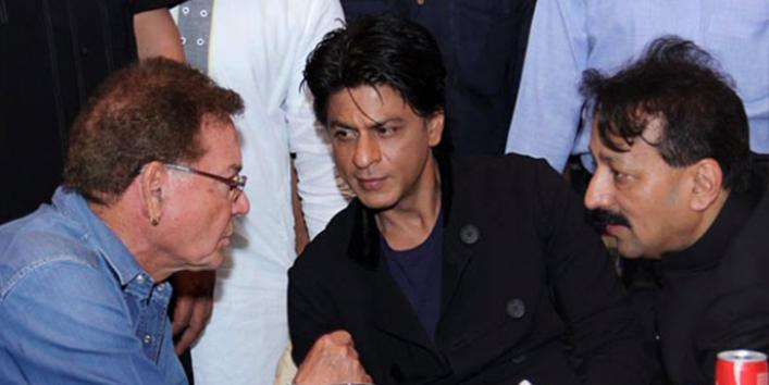 जब शाहरुख को फिल्म के हिट होने की खबर सलीम खान से लगी